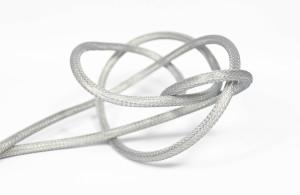 T-05S Thin Silver Cloud - transparent cable